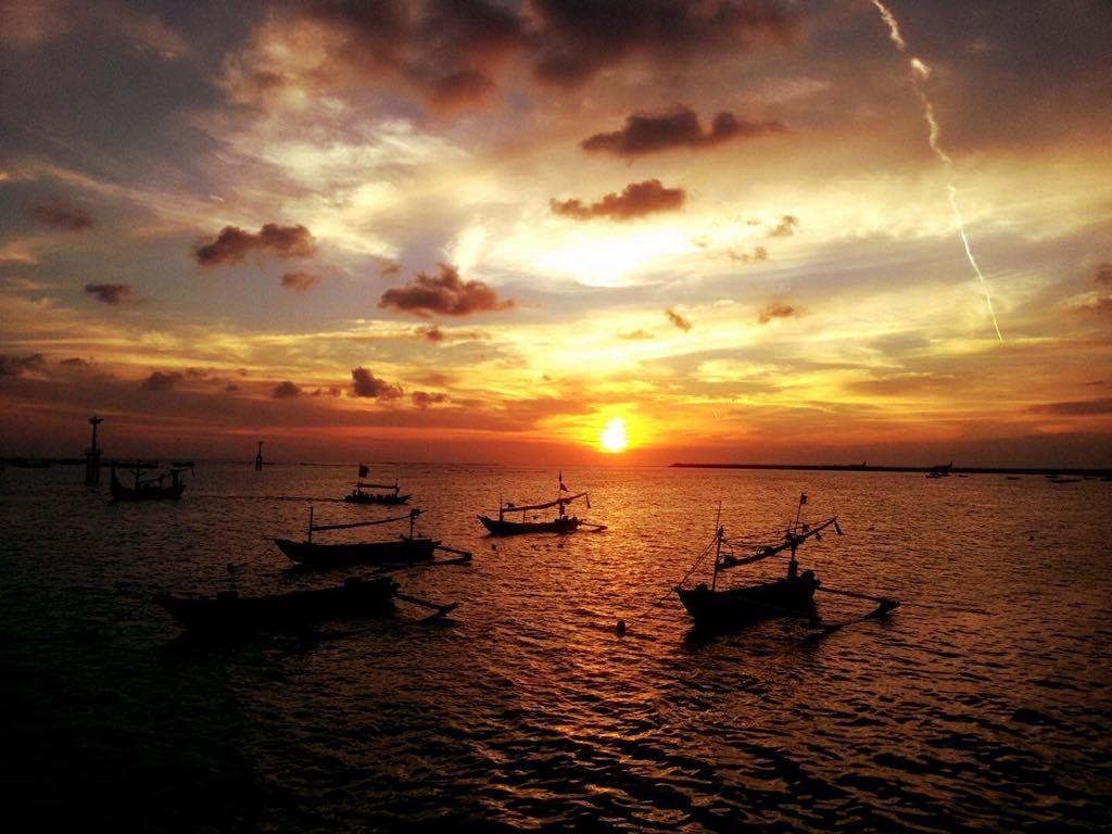 Ваканция в Бали - залез